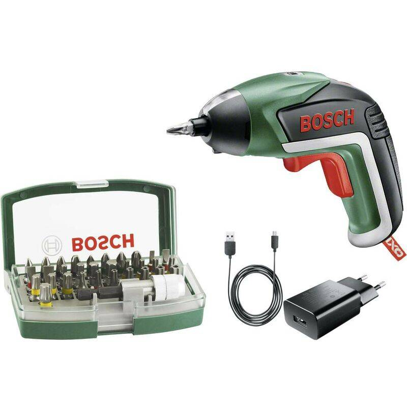 bosch home and garden ixo v 06039a800s avvitatore a batteria 3.6 v 1.5 ah li-ion incl. batteria ricaricabile, incl. acc