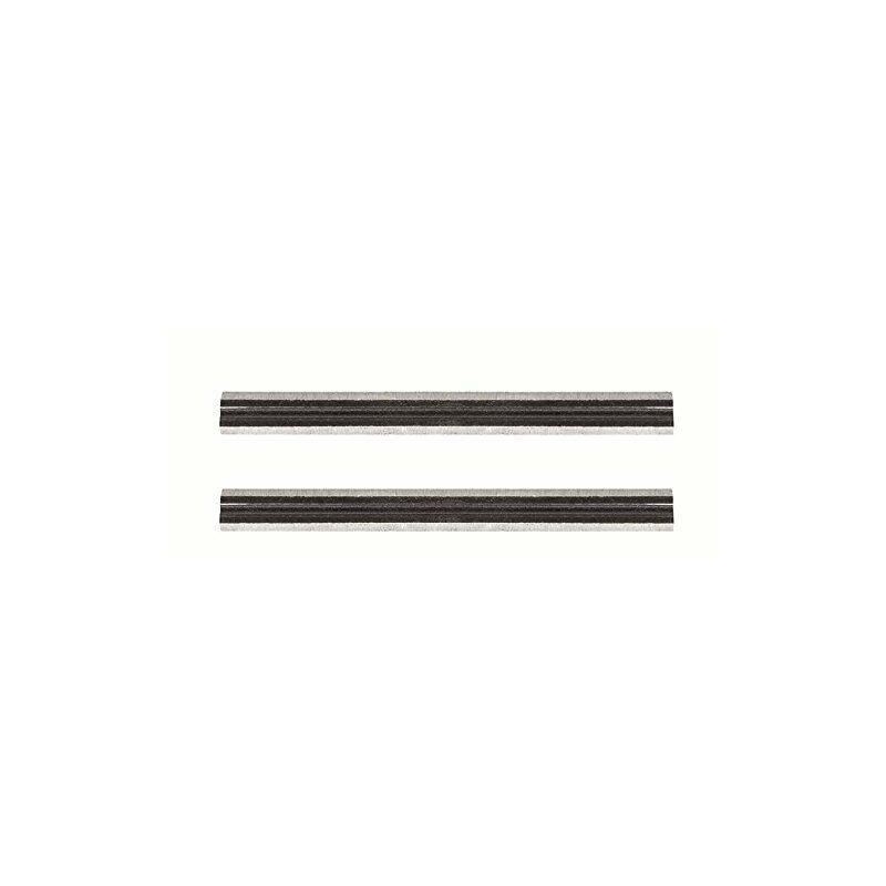 bosch home and garden - skil 2610373094 set di 2 lame per pialla hss, reversibili, 82 mm