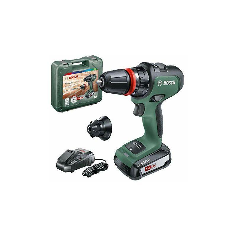 bosch home and garden bosch advancedimpact 18 (hmi), 06039b5100, trapano battente-avvitatore brushless, con 1 batteria, 18 v, verde