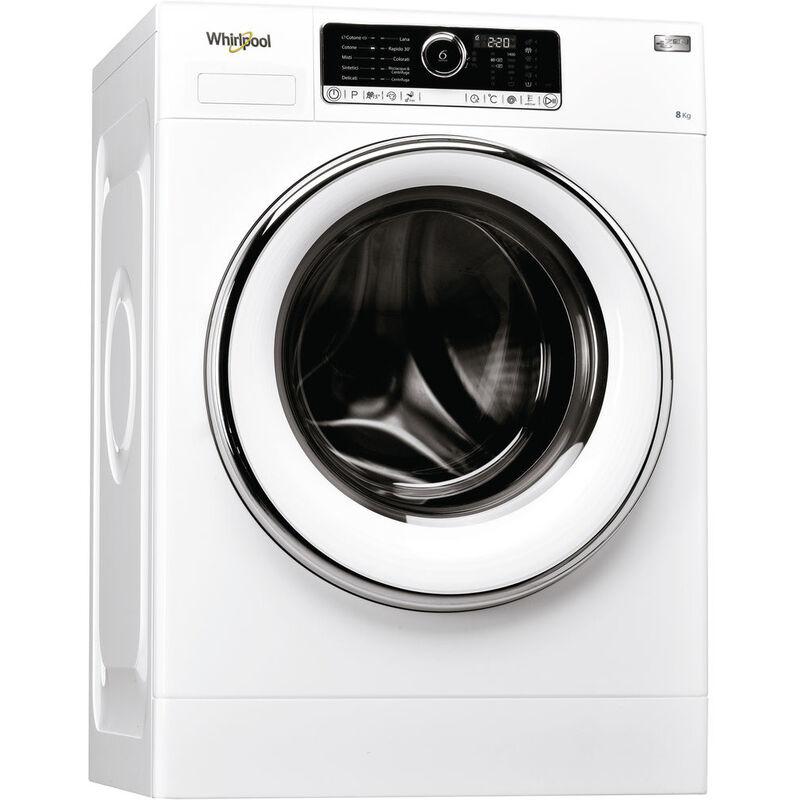 Whirlpool Best ZEN 8 - Lavatrice a Carica Frontale, 8 Kg, 1400 Giri, A+++ -50% - Whirlpool