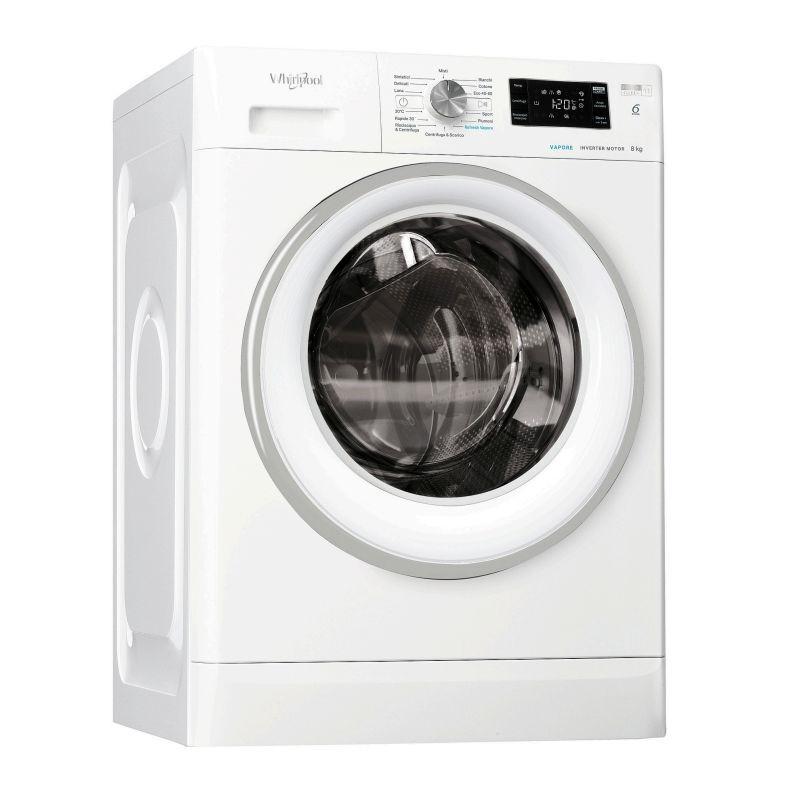 Whirlpool FFB 8248 SV IT lavatrice Libera installazione Caricamento frontale Bianco 8 kg 1200 Giri/min A+++ - Whirlpool