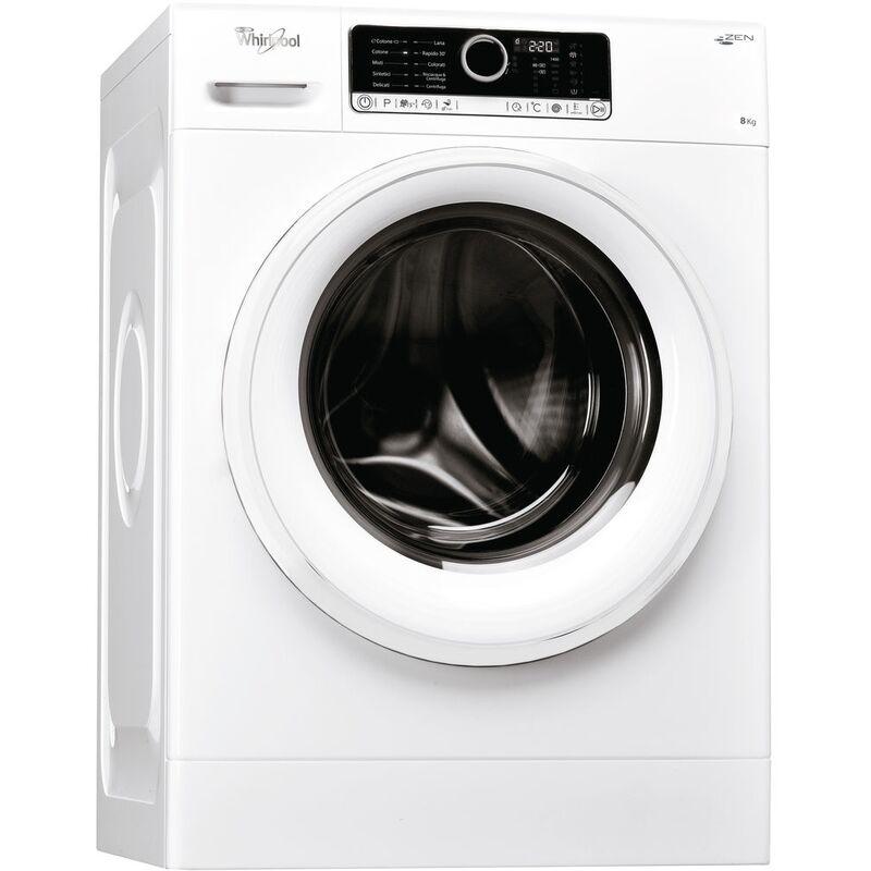 Whirlpool FSCR80410 lavatrice Libera installazione Caricamento frontale Bianco 8 kg 1400 Giri/min A+++ - Whirlpool