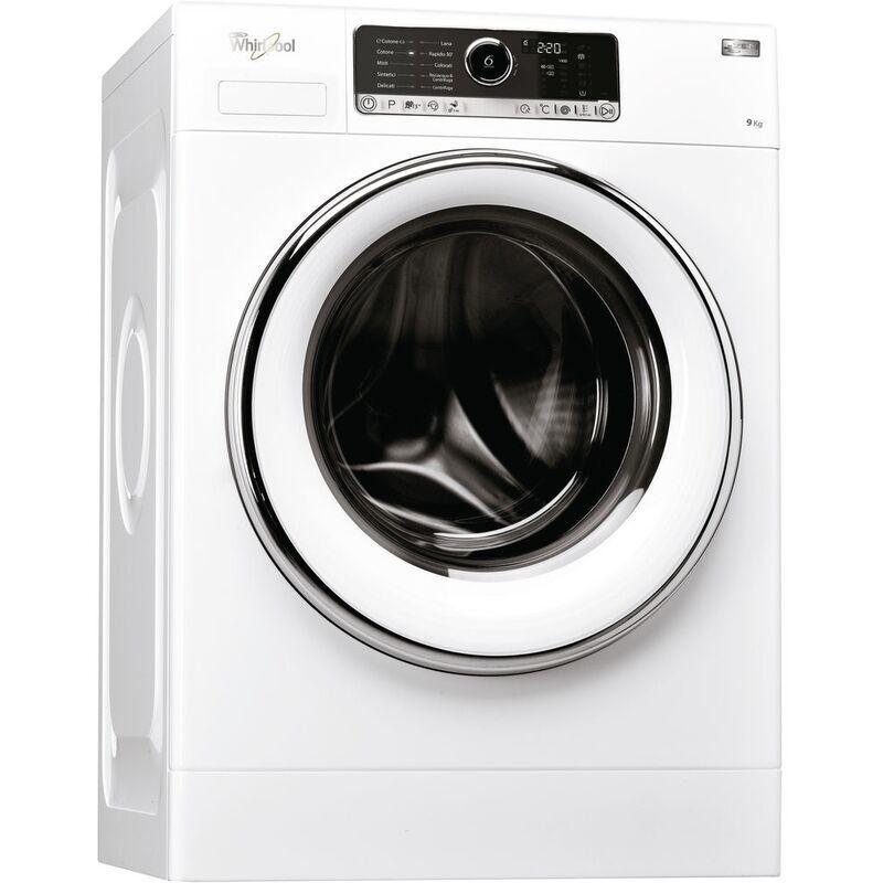 Whirlpool ZEN SF9414 lavatrice Libera installazione Caricamento frontale Bianco 9 kg 1400 Giri/min A+++-40%