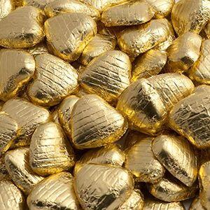 Italian Options Cuori di cioccolato oro (confezione da 100)