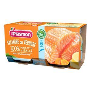 Plasmon OMO PL.Salmone-Verdure 2x80g