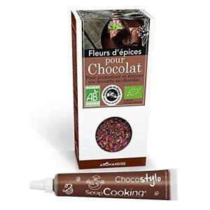 Youdoit Fiori di spezie per cioccolato + penna alimentare al cioccolato