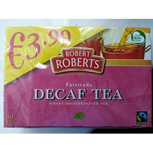 Sconosciuto Click to open expanded view Robert Roberts decaffeinated tea 80 by Dani store