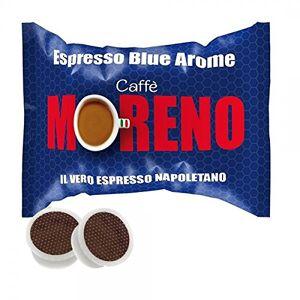 Moreno I1680 CAFFE' MORENO 300 CIALDE CAPSULE ESPRESSO BLUE AROME ESPRESSO POINT