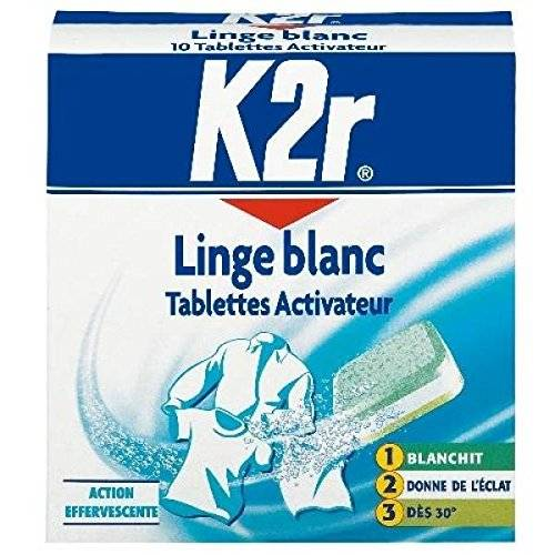 k2r activator lavatrice bianchi x10 compresse
