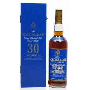 Macallan - Sherry Oak Speyside Malt Blue Label - 30 year old Whisky