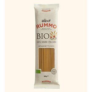 Rummo - Spaghetti Biologici n.3 Trafilati al Bronzo - 24 Confezioni da 500 g