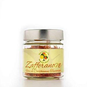 Elisir di Lunga Vita Produciamo Benessere Zafferanone 10gr - Fiori di Cartamo Alimentari - Made in Italy