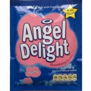Uccelli Angelo Delight Strawberry Flavour 6 x 59gm