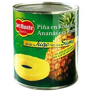 DEL MONTE Fette Di Ananas Del Monte Nel Succo 820g (Confezione Da 6)