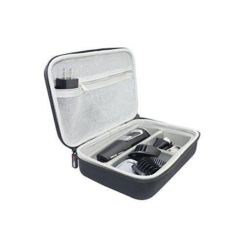 sanvsen regolabarba per philips series 500070009000beard and stubble trimmer della borsa di trasporto viaggi di sanvsen.