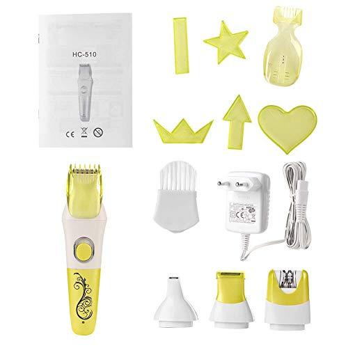canyita tagliacapelli, tagliasiepi elettrico multifunzione barba rasoio kit per toelettatura taglio di capelli spina ue