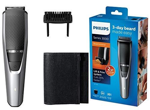 philips regolabarba bt3216/14 series 3000 beardtrimmer rifinitore innovativo con sistema lift & trim