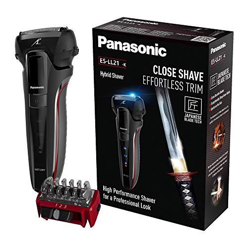 panasonic es-ll21 3 blade wet and dry rasoio elettrico