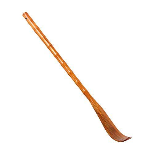 artibetter - tiragraffi per schiena in legno, con manico lungo, per la casa, gli amici e i familiari, colore kaki