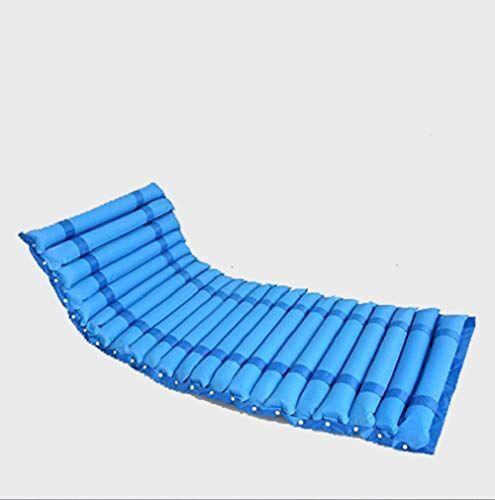 sgtrehyc antidecubito materasso gonfiabile air cuscino gonfiabile materasso anziani/disabili blu anti bedsore prevenire trattamento decubito