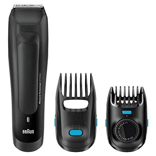 braun regolabarba uomo bt5050 rasoio elettrico uomo, tagliacapelli, barba ottima grazie agli intervalli di lunghezza da 0.5mm
