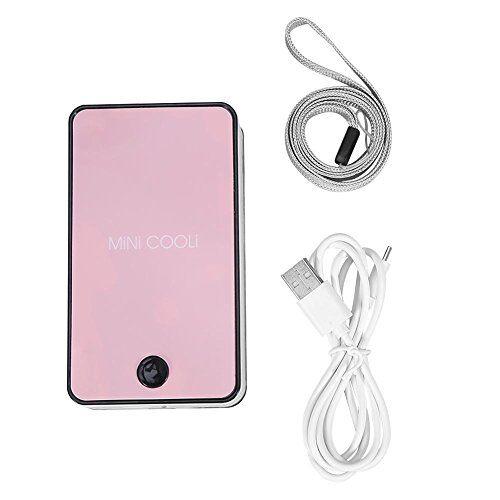 qkiss ventilatore qkiss usb mini fan portatile per condizionatore d'aria per ciglia innestate estensione ciglia essiccatore colla(rosa)