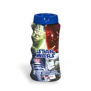 Star Wars Gel Doccia e Shampoo 2in1, Guerre Stelle - 100 ml