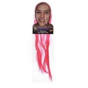 Halloween Bambini, ragazze parrucca capelli lunghi fascia Cosplay accessorio per travestimento da strega