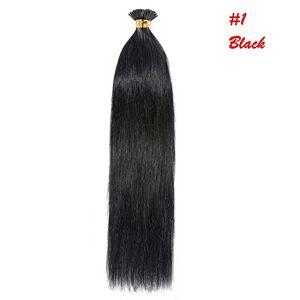 "Alpha7 Ciocche Capelli 100% Veri Extensions AlphaCat 1Grammo x 50 Cheratina""I-Tip"" Human Hair Remy 50cm/60cm (50cm, 613 Biondo Platino)"
