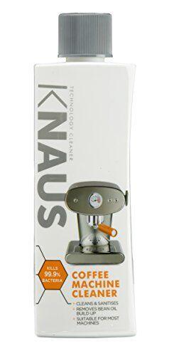 knaus detergente universale per macchina da caffè 300ml fino a 6dosi per bottiglia, 6pezzi