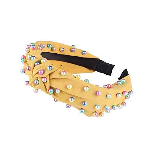 A Liitle Colder-fashion-headbands Coreano Perla Fascia Per le Donne Lunetta Semplice Annodato Capelli Loop Donne Cerchietto Moda Copricapo Ragazze Accessori per Capelli