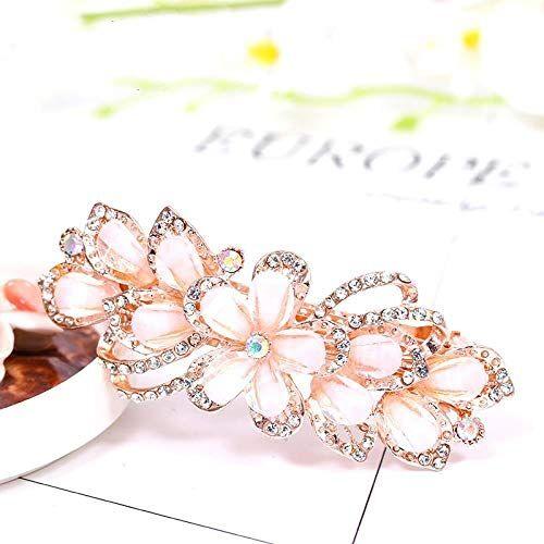 Kjsdzh Forcina Di Cristallo Stile Coreano Diamante Stile Moda Ragazza Temperamento Accessori Moda Capelli Adatti Per Ragazze (Confezione Da 5), Stile -6