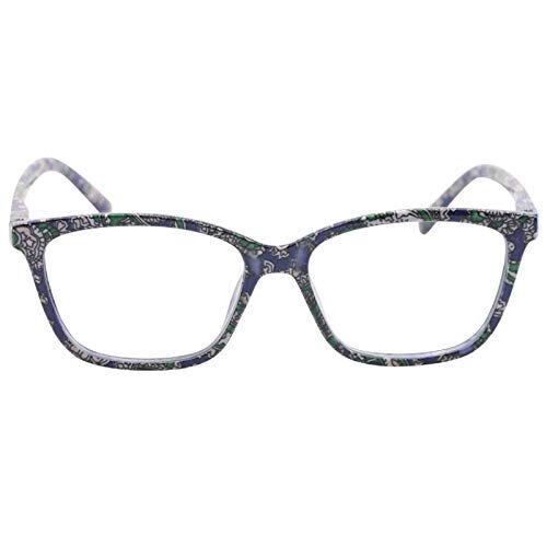 EgBert Resina Per Occhiali Da Lettura Moda Modello Camelie Color Cat Eye - 1.0