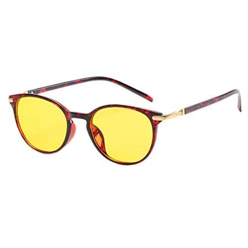 Occhiali KKY-ENTER Occhiali di protezione luce blu Occhiali di sicurezza moda moderna per computer/telefono Sonno migliore [Anti Eye Fatigue] Unisex (uomini/donne) (Color : A)