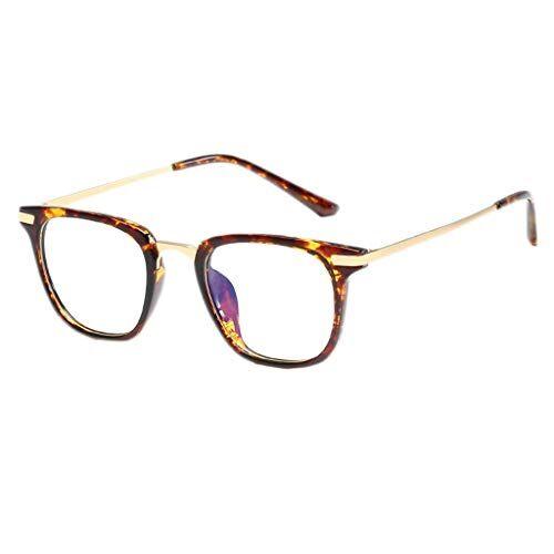 Occhiali KKY-ENTER Moda moderna anti blu luce occhiali occhiali di sicurezza per computer/telefono [anti affaticamento degli occhi] unisex (uomini/donne) (Color : A)
