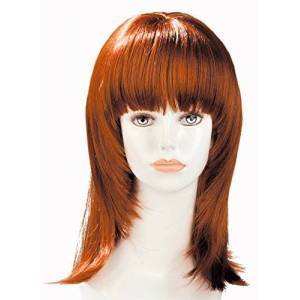 World WigsParrucca Rousse Mi-longue con frange