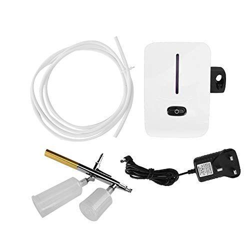 yuyte mini kit compressore d'aria ad ossigeno mini kit pompa pneumatica per tatuaggi idratante a spruzzo idratante per pelle(09)