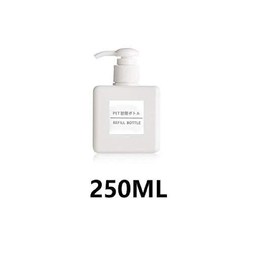 wangdefa bottiglia di lozione in bottiglia per lozione di gel per doccia per lo shampoo disinfettante per le mani del bagno per hotel