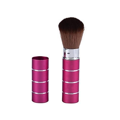 double nice telescop retrattile pennelli trucco powder foundation brush pennello viso make up strumenti di cosmetici (handle color : a)