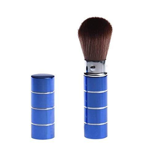 double nice telescop retrattile pennelli trucco powder foundation brush pennello viso make up strumenti di cosmetici (handle color : d)