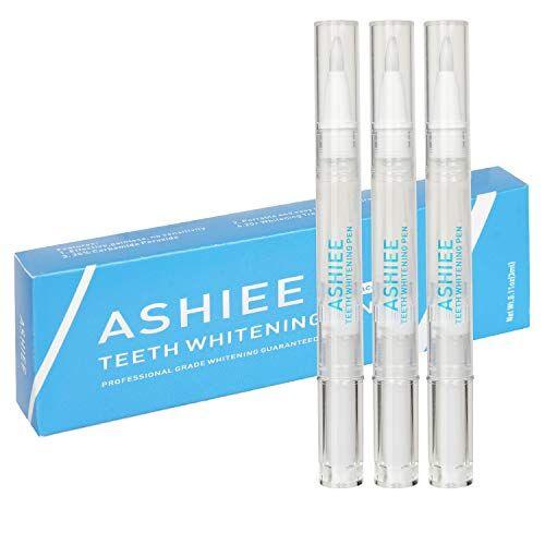 ashiee - sbiancante per denti sbiancante per rimuovere macchie di caff e t, confezione da 3 pezzi, pi di 50 volte