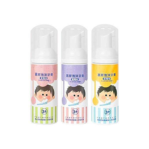 liféup dentifricio per bambini schiuma di mousse ingestibile sbiancamento dei denti dentifricio per denti
