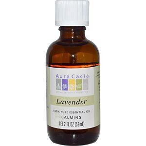 Aura Cacia 100 Percent Pure olio essenziale di lavanda, 2 Ounce - 3 per ogni caso.
