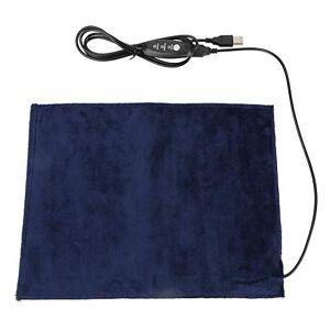 Chanmee Pad riscaldante, riscaldatore in tessuto, pad riscaldante elettrico in tessuto 5V2A facile da usare per la vita, scalda schiena spalla addome collo