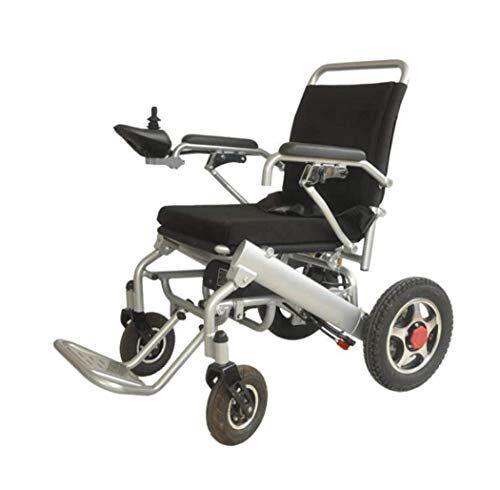 hyj sedia a rotelle elettrica rassicurante nera comoda e comoda della sedia a rotelle elettrica