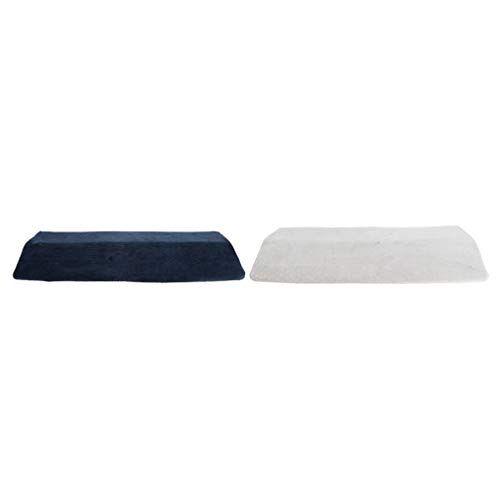 f fityle 2 pezzi cuscino triangolare sostegno lombare per donne gravidanza anziani dormire accessori
