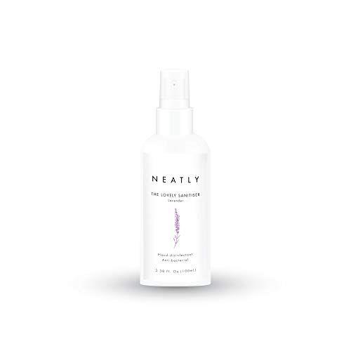 neatly disinfettante mani neatly sanitzer lavender   disinfettante spray bio 100ml   alternativa a salviettine disinfettanti e gel disinfettante mani