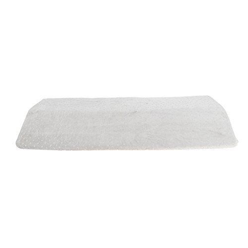 homyl cuscino lombare confortevole lavabile sonno laterale lavora ufficio donne gravidanza - grigio, 60x23x5cm