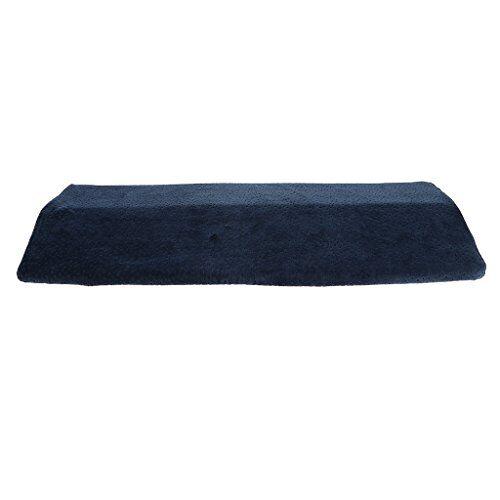 homyl cuscino lombare confortevole lavabile sonno laterale lavora ufficio donne gravidanza - blu, 60x23x5cm