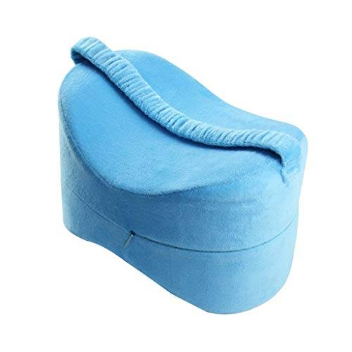 hellery cuscino al ginocchio con zeppa per donne in gravidanza, coscia dell'anca e sollievo affaticamento articolare - blu, 25,5  18  18 cm